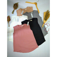 Inner Tanpa Lengan Baju Bumil Dalaman Blazer Blouse Tanpa Lengan