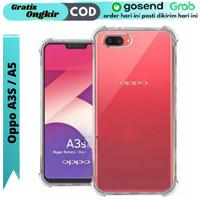 Case Oppo A3S Softcase Silikon Anti Crack Bening
