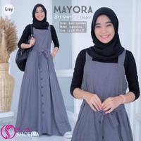 Baju Overall Wanita Muslim Mayora Set Original Shofiya Fashion