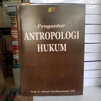 pengantar antropologi hukum prof h Hilman hadikusuma SH