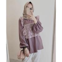 Lady Blouse Atasan Baju Muslim Wanita Remaja Terlaris
