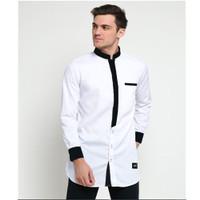 Baju Muslim Pria Koko JAMIL Bahan Cotton Toyobo Adem Lengan Panjang