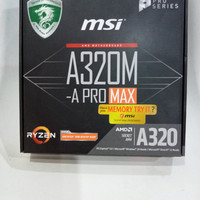 MADERBOOT MSI a320m -A pro MAX