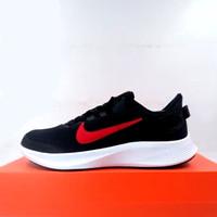Sepatu Running/Lari Nike Runallday 2 Black Red White CD0223-002 Ori