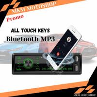Head Unit Tape Audio Mobil Single Din Touch Screen MP3 Radio Bluetooth