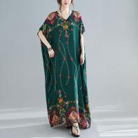 SAMANTHA DRESS - DRESS WANITA IMPORT BIG SIZE/JUMBO GAMIS/KAFTAN