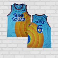 Baju Jersey Basket Swingman NBA Lebron James Tunesquad Space Jam 2