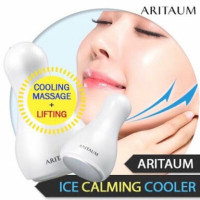 ALAT PEMIJAT WAJAH ICE CALMING COOLER ARITAUM KOREA