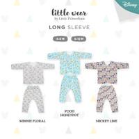 PALMERHAUS Little Wear Long Sleeve Size 6-12 Months - MICKEY LINE