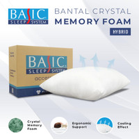 Pillow Crystal Memory Foam BASIC / Bantal Basic