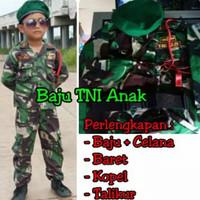 SERAGAM TENTARA ABRI TNI ANAK SD TK (LAKI WANITA) BAJU KARNAVAL