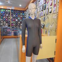 Baju renang diving wanita tangan panjang DV 40TP SC