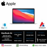 MacBook Air 2020-Apple M1 Chip with 8‑Core CPU&7‑Core GPU 256 GB