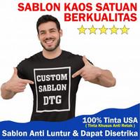 Custom baju kaos pria wanita t shirt suka suka premium - Abu-abu, M