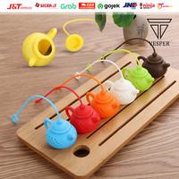 silicone teapot filter / tea bag infuser / infuse saringan teh silikon