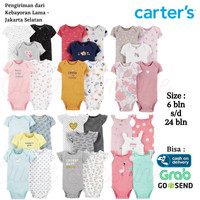 Baju 5in1 Jumper Anak Bayi Perempuan Laki Carters 1 - Bodysuit Carter
