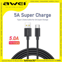AWEI Type-C Cable Huawei Super Charge - Kabel Data Fast Charging 5V/5A