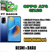 Oppo A74-6/128 GB__resmi__baru__ory
