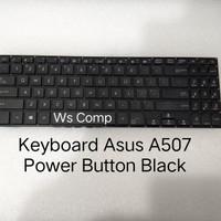 Keyboard ASUS A507 X507 Power Button Black