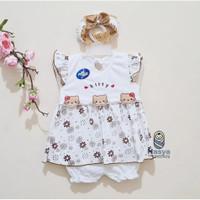 P-043 , Murah Baju Bayi Perempuan umur 0 - 6 Bulan