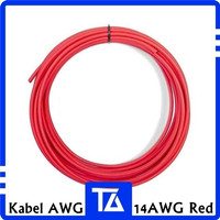 1CM 14 AWG KABEL BETRE 14AWG SILICONE WIRE CABLE BATTERY KABEL