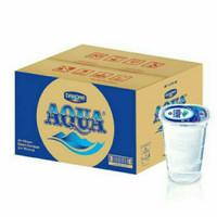 Aqua gelas 220 ml 1 dus 48 pcs Khusus GOJEK/GRAB INSTAN/SAMEDAY