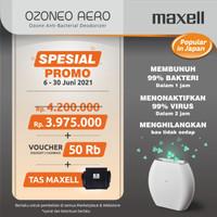 MAXELL OZONEO AERO MXAP-AE270WH AIR PURIFIER ANTI VIRUS & ANTI BAKTERI