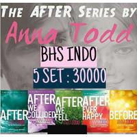 Novel terjemahan Anna Todd 1 - 4 After before series indonesia inggris