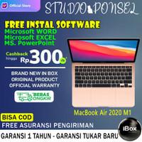 Apple Macbook Air 2020 M1 Chip 13 inch 512GB Grey Silver Gold 256GB