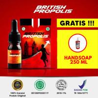 British Propolis di apotik original 100% halal kemasan 6 ml Bandung