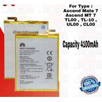 Baterai Original HB Ascend Mate 7 MT7 TL-10 UL00 CL00 HB4170