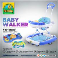 FAMILY Baby Walker tipe 2115 - Biru