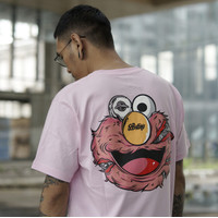 T-SHIRT LASTING WITH ELMO PINK