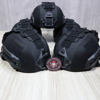 helm anti peluru / helem kevlar/ Helmet Tactical Ballistic level 3A