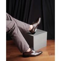 Sepatu Pantofel Pria - Winshor - Ashton Dark Brown