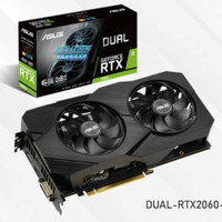 Asus GeForce RTX2060 DUAL EVO 6GB DDR6 VGA Asus RTX2060