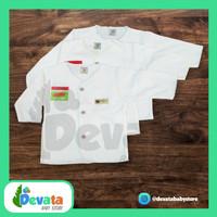 3 Buah Baju Bayi Lgn Panjang (Uscita) - Putih (Uk. 6-12)
