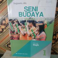 buku seni budaya kelas 10 Erlangga