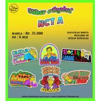 Stiker Angkot NCT
