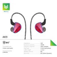 QKZ AK9 with Mic Earphone Headset Gaminng Sporty Olahraga Hansfree Bas
