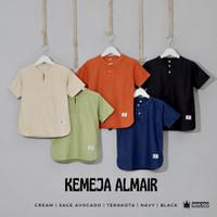 Kemeja Koko Anak Awesome kids&co Almair - Baju Muslim Casual Linen