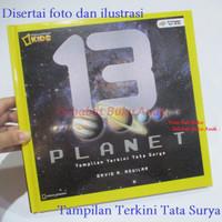 Buku National Geographic Kids 13 Planet Natgeo Tata Surya Terbaru