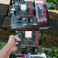 Gigabyte Gaming 3 H110M Seken Fulset 1151 Skylake Intel Gen 6