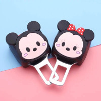 colokan seatbelt mobil mickey mouse minnie mouse aksesoris