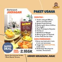 Paket Juragan Bakoel Keripik Gettook 250 pcs