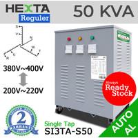 Trafo Listrik Step Up Down Hexta 50 KVA - AL - REGULER