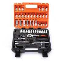 Toolbox Set Kunci Pas Set Motor Mobil Elektronik Multifungsi 53 Pcs