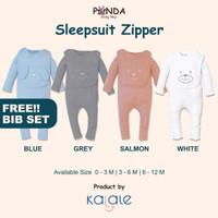 Kalale Sleepsuit Zipper - Sleepsuit Baby Newborn Piyama Bayi