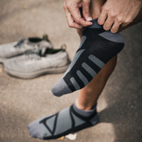 Atalon Kaos Kaki Sports Gym / Running / Lari - Stripe Socks (3 PASANG)