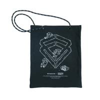 Tendencies Live Life Stay Visible Tote Bag
